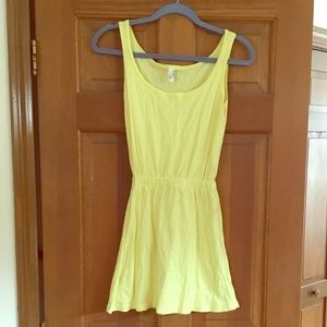 Lemon yellow American Apparel dress 🍋🍋
